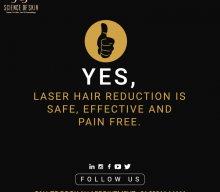 How does laser treatment for hair removal work?