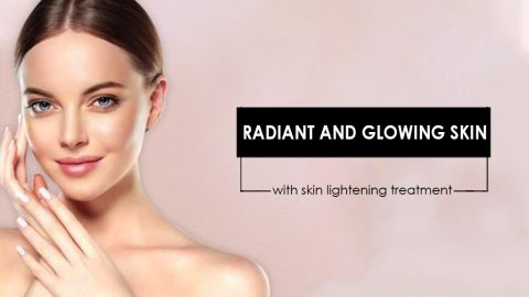Radiant And Glowing Skin With Skin Lightening Treatment.